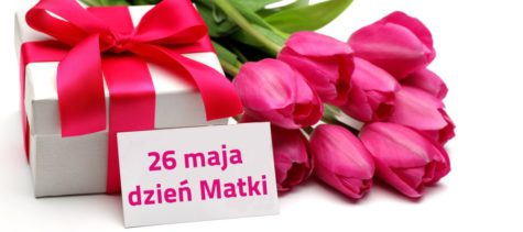 prezent i kwiaty na dzień mamy